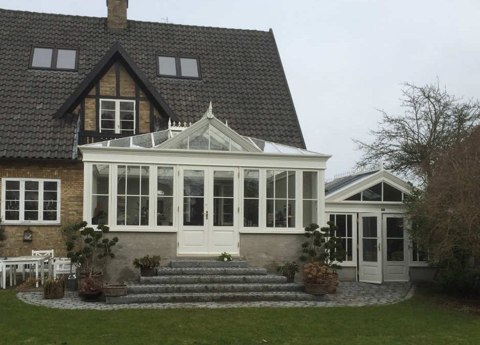 Hardwood Conservatory & Altelier installed in European capital