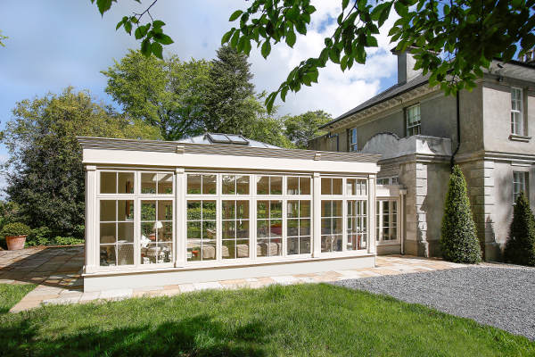 Timber Orangery by Norman Pratt